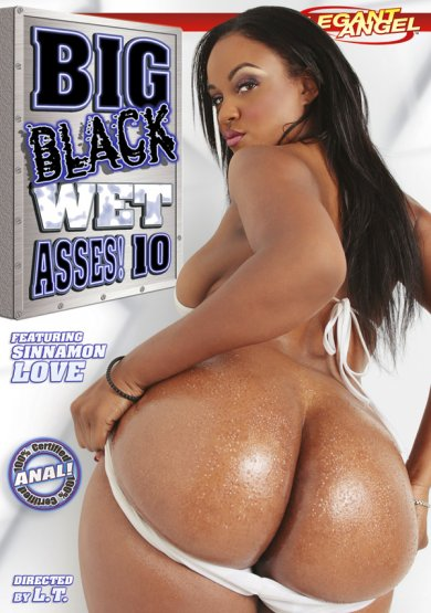 Big Black Wet Asses #10 Cover