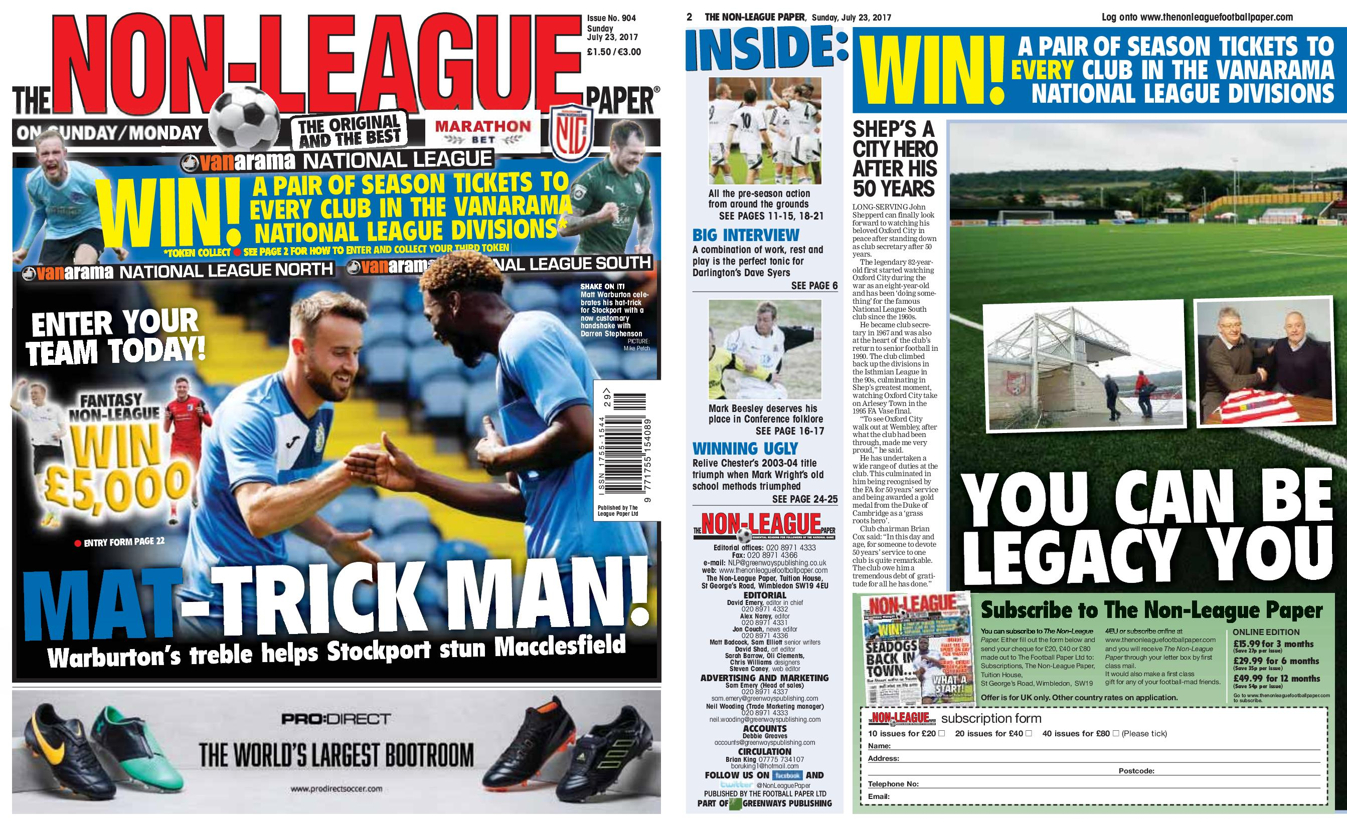 The Nrn League Paper July 23 2017