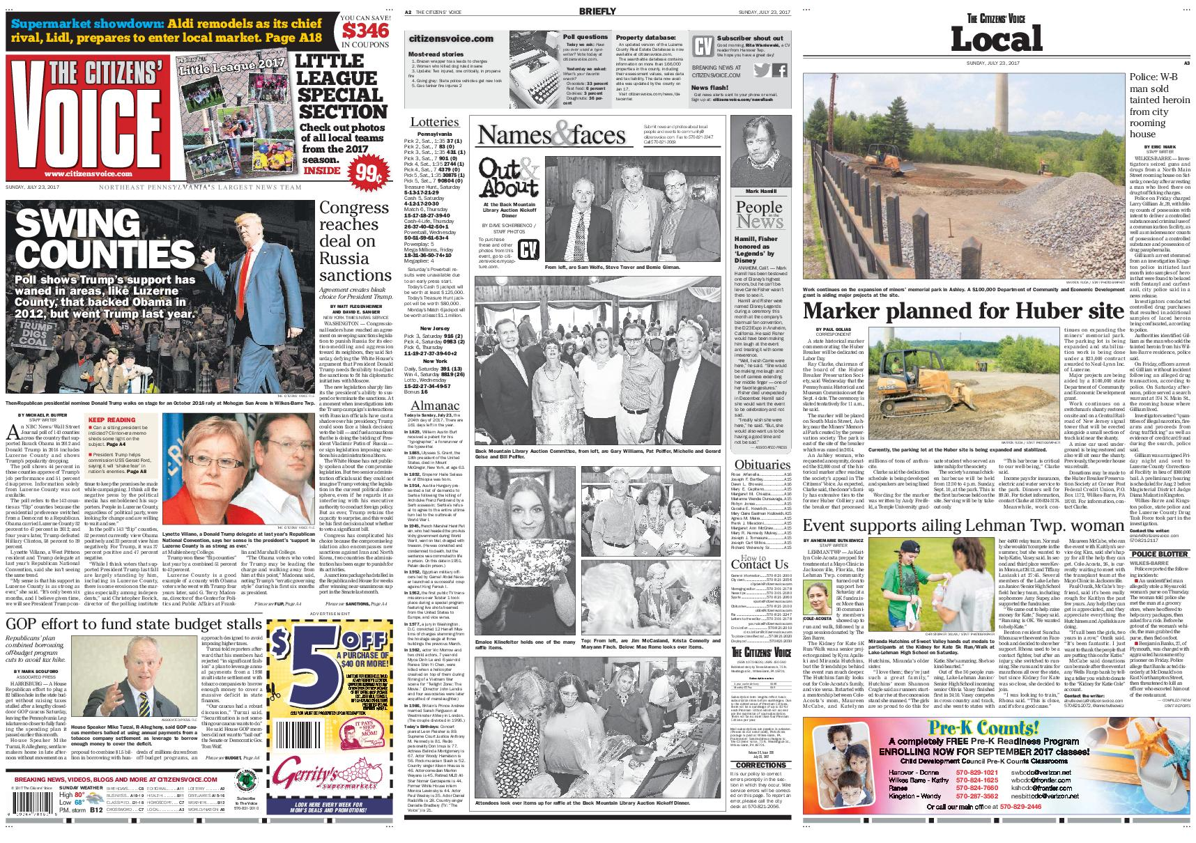 The Citizens Voice July 23 2017