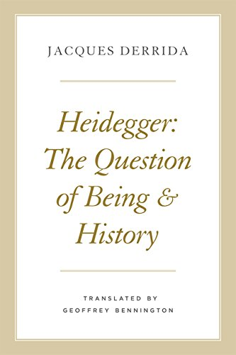 Heidegger The Question of Being and History