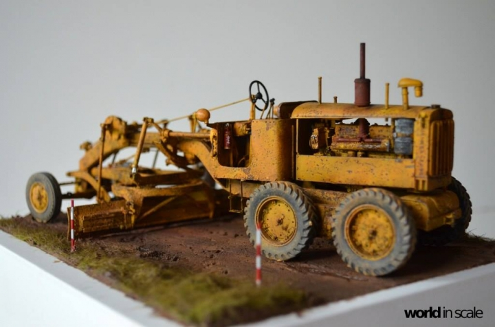 "Caterpillar 12 ""Motor Grader"" - 1/35 by Plus Model G99rk5gf"