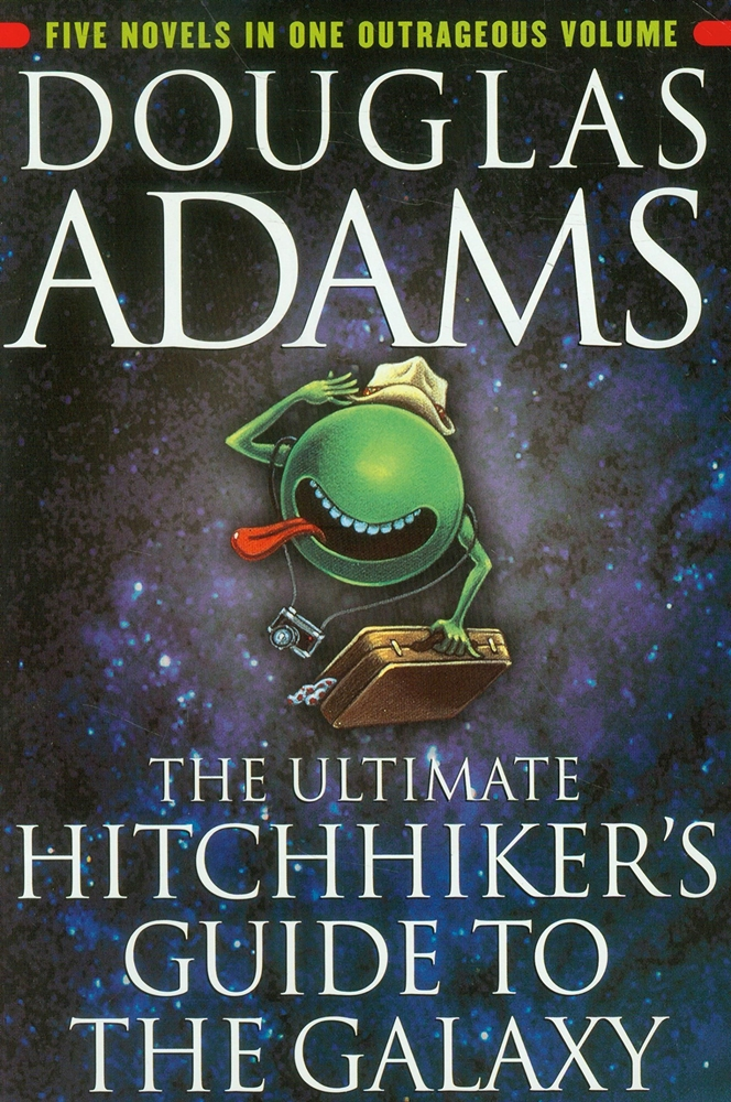 Douglas Adams The Hitchhikers Guide to the Galaxy 5 ebooks
