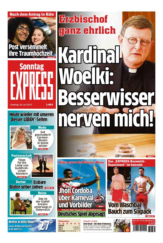 Express K ln 30 Juli 2017