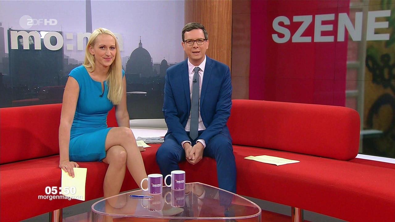 "Charlotte Potts ZDF ""MoMa"" Am 31 07 2017 Teil 1 Bilder Bei"