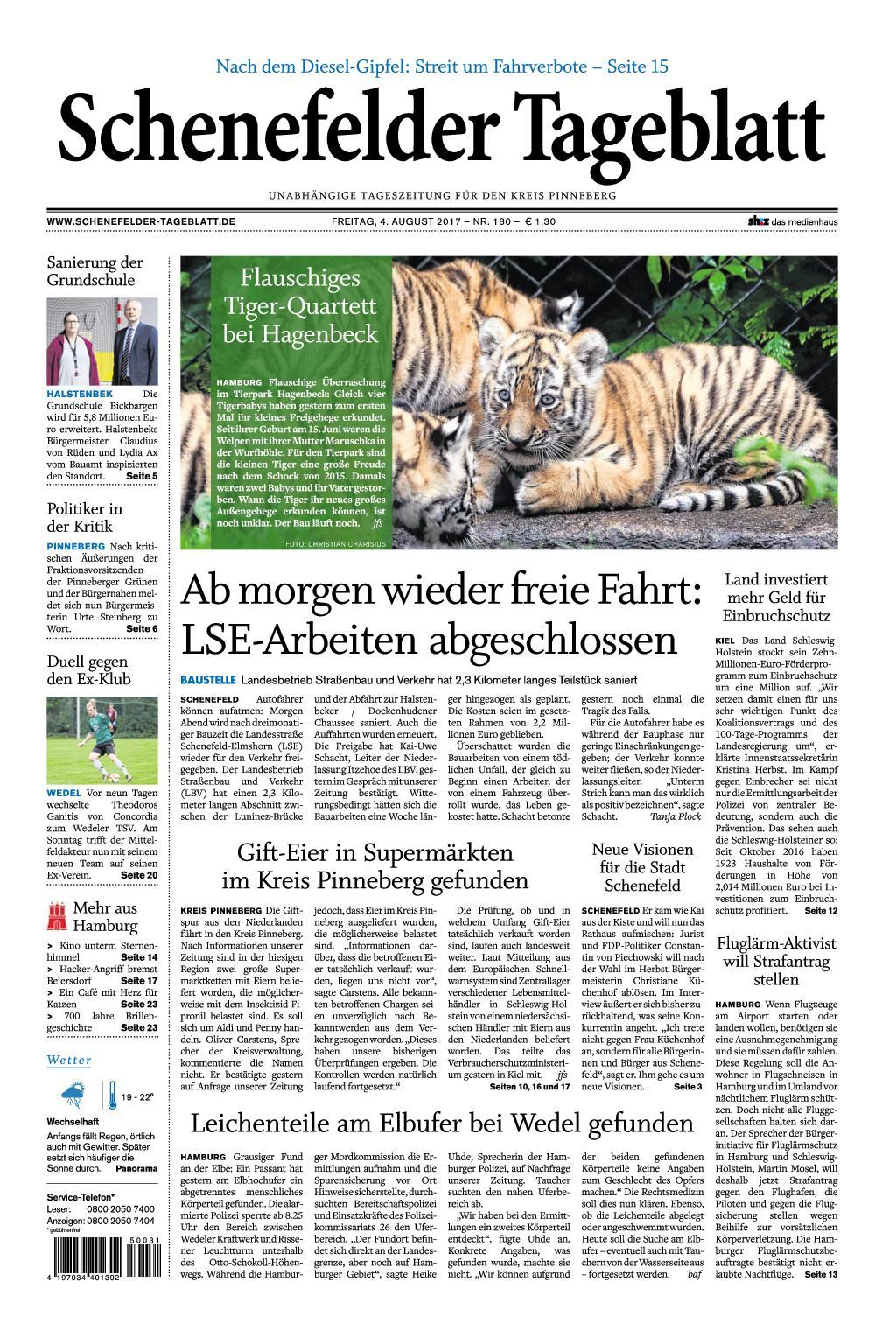 Schenefelder Tageblatt 04 August 2017