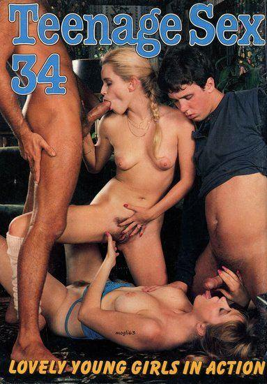 Teenage Sex 34 Cover