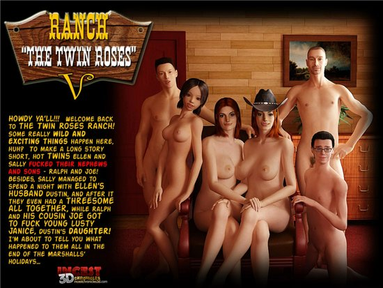 Ranch The Twin Roses 5 Cover