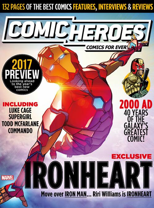 Comic Heroes Janaury 2017