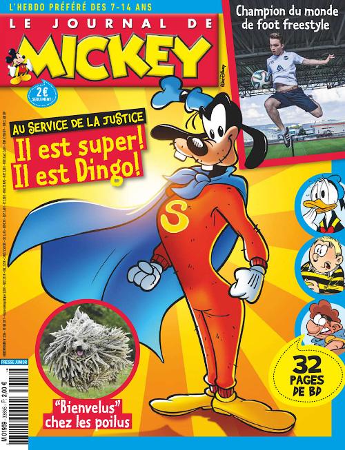 Le Journal de Mickey 10 Mai 2017
