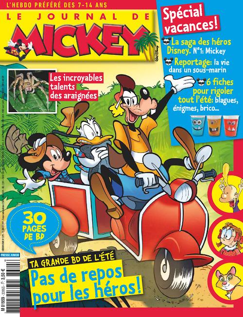 Le Journal de Mickey 12 Juillet 2017