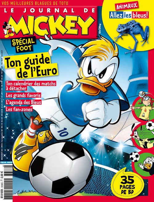 Le Journal de Mickey 8 au 14 Juin 2016