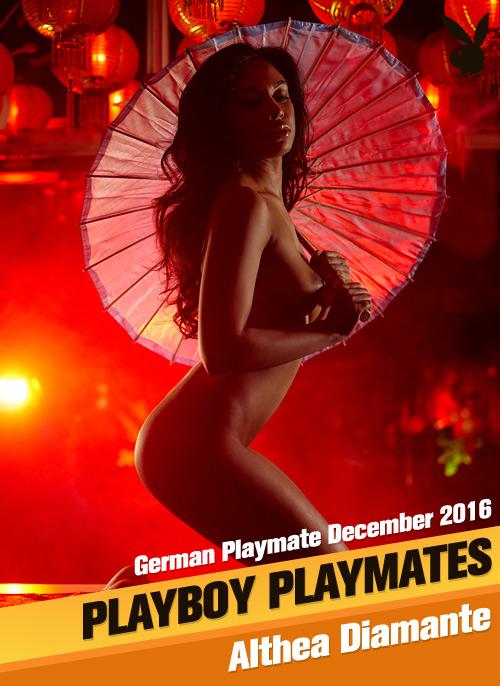 Althea Diamante German Playmate December 2016