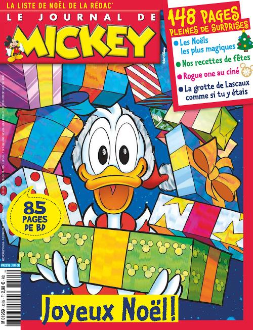 Le Journal de Mickey 14 Decembre 2016