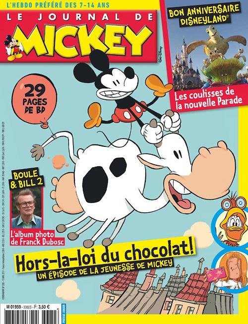 Le Journal de Mickey 12 Avril 2017