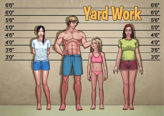 Yard Work 1 to 15 Cover