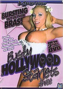 Busty Hollywood Starlets 3 Cover