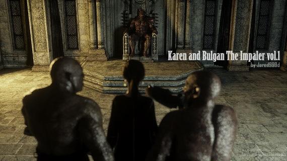 Jared999D - Karen and Bulgan the Impaler