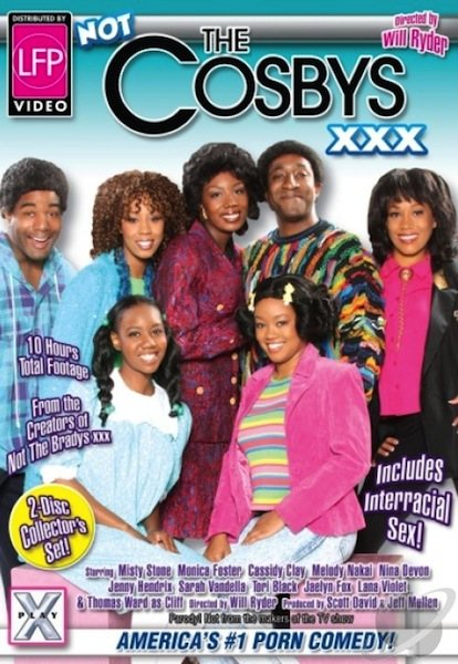 Not the Cosbys XXX #1 Cover