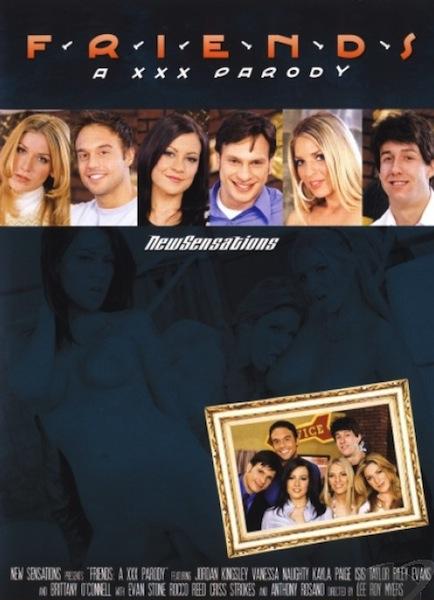 Friends A XXX Parody Cover