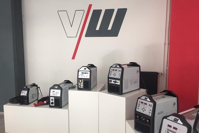Schweißgeräte Ausstellung von Vector Welding