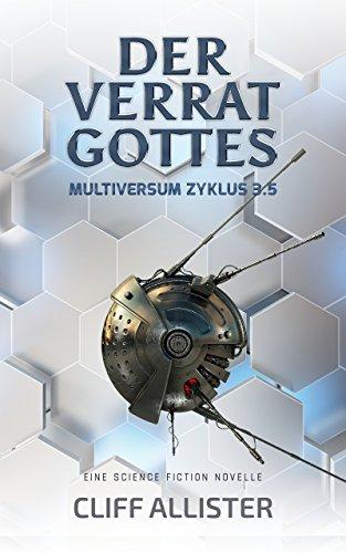 Buch Cover für Der Verrat Gottes: MULTIVERSUM Zyklus 3.5
