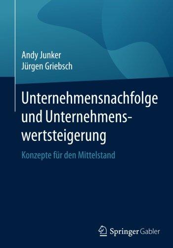 Andy Junker - Unternehmensnachfolge und Unternehmenswertsteigerung