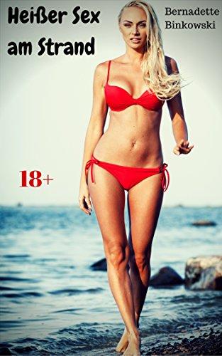 Buch Cover für Heißer Sex am Strand: Geile Erotikstory