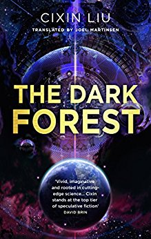 Buch Cover für The Dark Forest (The Three-Body Problem)