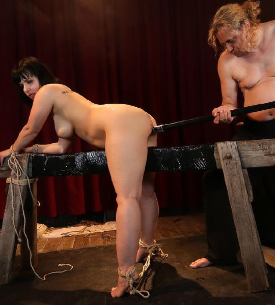 Pina Deluxe - Wild bondage and torture session with chubby German slave Pina Deluxe PT 2 1080p