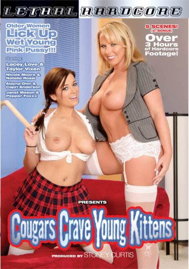 Cougars Crave Young Kittens #1 Cover