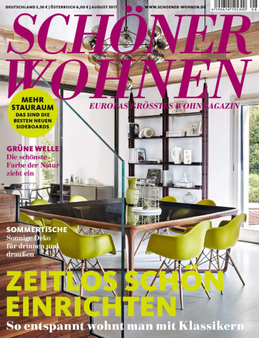 sch ner wohnen magazin jahresthema 2017. Black Bedroom Furniture Sets. Home Design Ideas
