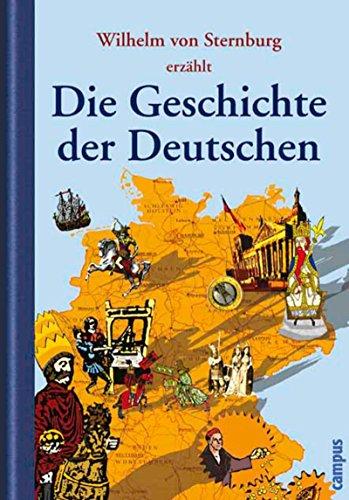 Buch Cover für Die Geschichte der Deutschen