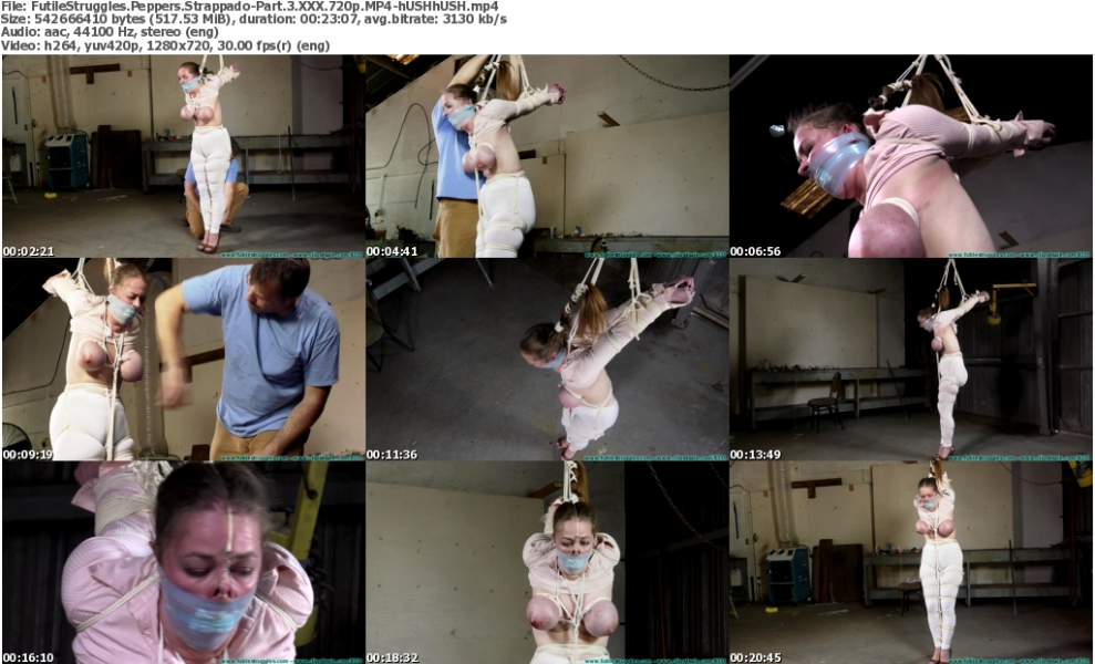 FutileStruggles Peppers Strappado-Part 3 Xxx 720p Mp4-hUshhUsh