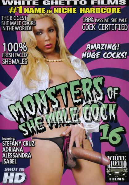 Monsters Of She Male Cock 16 Cover