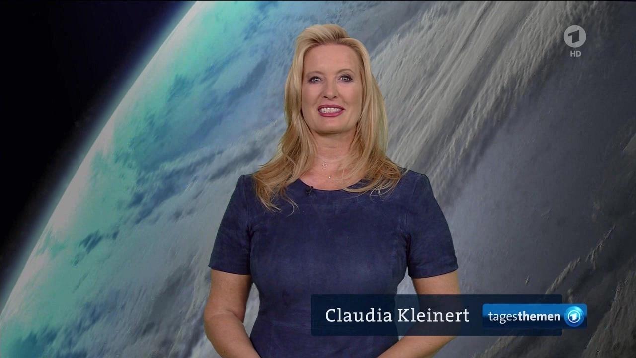 Claudia Kleinert @ TagesThemen-Wetter am 15.08.2017