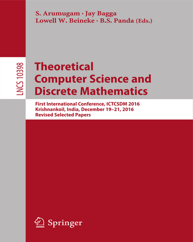 Theoretical Computer Science and Discrete Mathematics