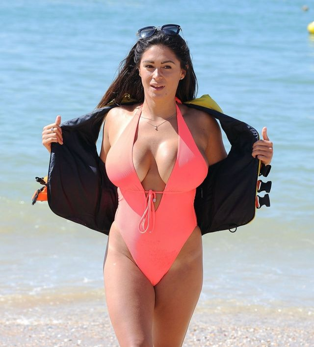 Casey Batchelor in Swimsuit – Jet Skiing in Portugal