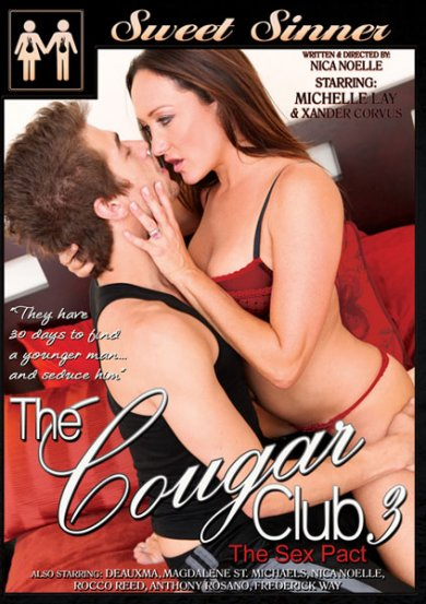 The Cougar Club #3 Cover