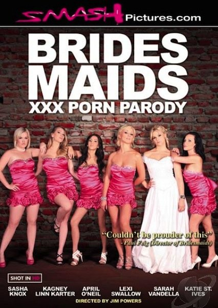 Bridesmaids XXX Porn Parody Cover