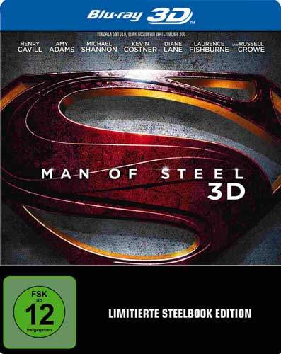 Man of Steel 3D 2013 Multi Complete Bluray-Untouched