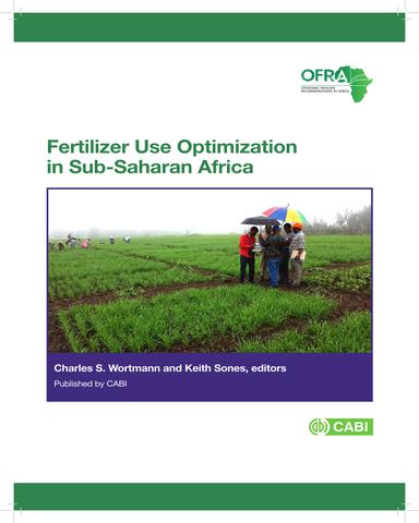 Fertilizer use optimization in sub Saharan Africa