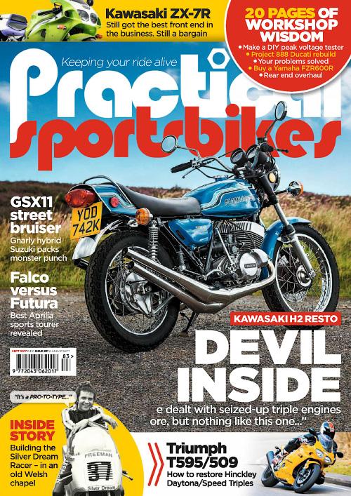 Practical Sportsbikes September 2017