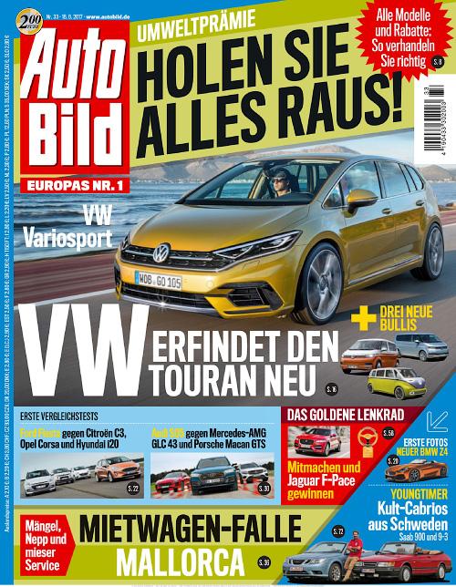 Auto Bild Germany 18 August 2017