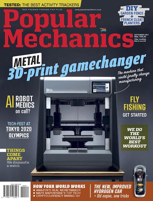 Popular Mechanics South Africa September 2017