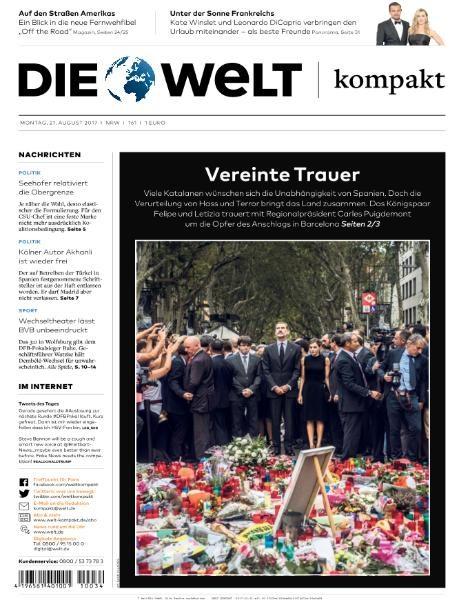 Die Welt Kompakt 21 August 2017