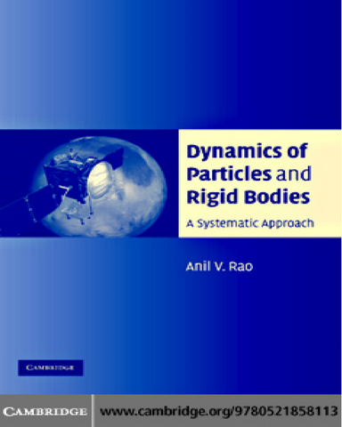 Dynamics of Particles and Rigid Bodies A Systematic Approach