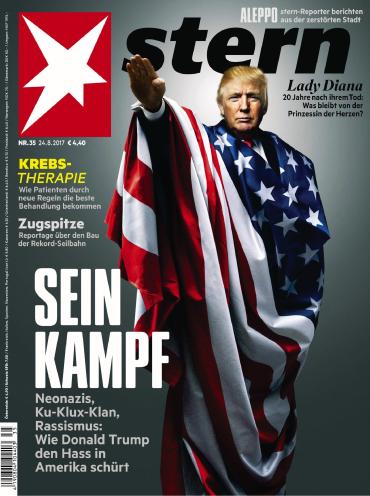 Der Stern Nachrichtenmagazin Nr 35 vom 24 August 2017