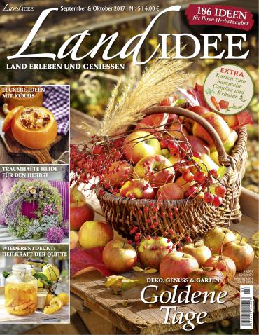 Landidee Magazin September Oktober Nr 05 2017