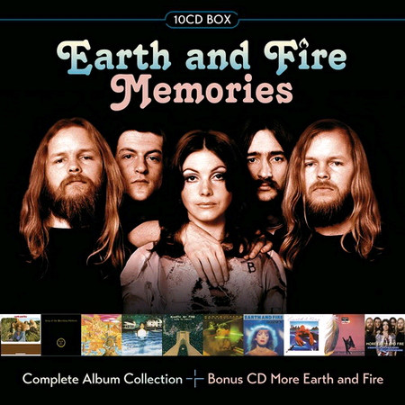 Earth And Fire ‎– Memories (Collection) (2017)