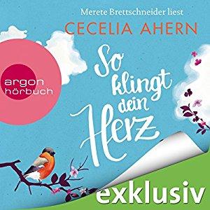 Hörbuch Cover So klingt dein Herz by Cecelia Ahern